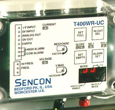 linear mass sensor for machine speed modulation