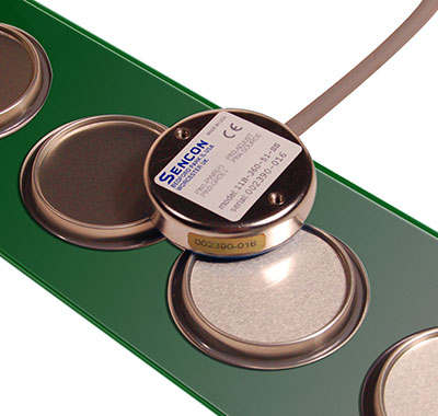 Flat belt conveyor end/lid sensors  - for die protection