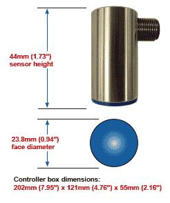 Tab Verifier dimensions