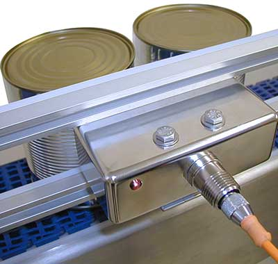 filling line sensors - uninterrupted processing
