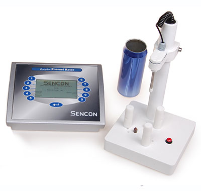 Can-stands for Sencon SI9100 Enamel Rater multiple self-test features