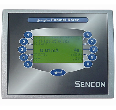 Sencon enamel rater - porosity test for metal packaging
