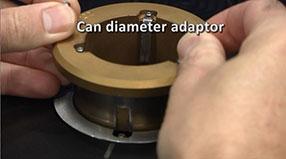 adaptador para diâmetro de lata